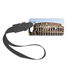 Rome_4x9.25_FlatCard_Colosseum Luggage Tag