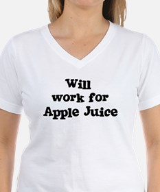 Will work for Apple Juice Shirt