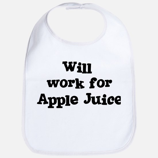 Will work for Apple Juice Bib