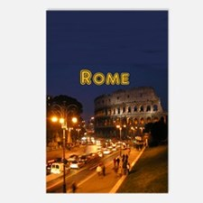 Rome_2.5x3.5_Ornament(Ova Postcards (Package of 8)