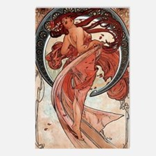 Mucha Dance Postcards (Package of 8)