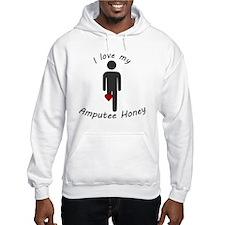 I Love my Honey Amputee Hoodie