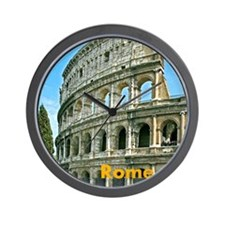 Rome_7.355x9.45_iPadCase_Colosseum Wall Clock