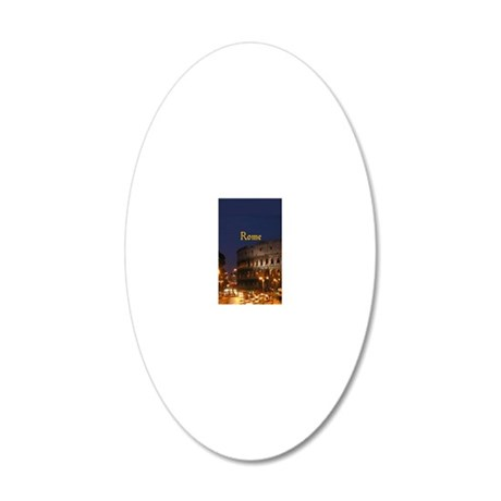 Rome_2.337 x 4.9_iPhone5Case 20x12 Oval Wall Decal