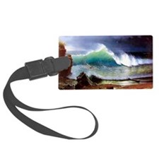 The Shore of the Turquoise Sea Luggage Tag