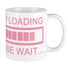 Baby Loading Please Wait Small Mug