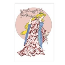 Cherry Blossom Moon Postcards (Package of 8)