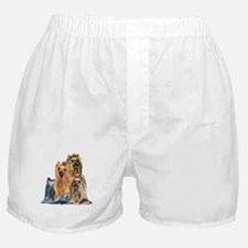 Yorkshire Terrier Yorkie Collage Boxer Shorts