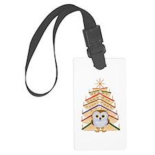 Merry Bookmas! Luggage Tag