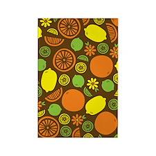 A Splash of Citrus Rectangle Magnet