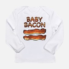 Cute Baconation Long Sleeve Infant T-Shirt