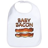 Bacon Cotton Bibs