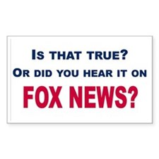Fox News Decal