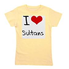 I love Sultans Girl's Tee