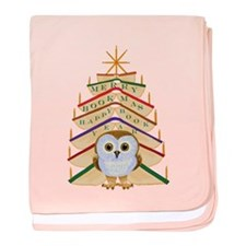 Merry Bookmas! Baby Blanket