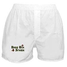 Bong Hits For Jesus Boxer Shorts