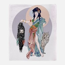 Hecate and  Clytius Throw Blanket