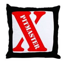 Red X Throw Pillow
