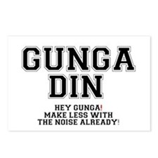 GUNGA DIN - MAKE LESS WIT Postcards (Package of 8)