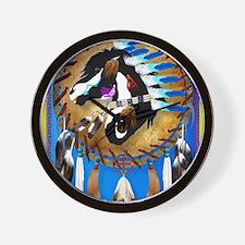Spiritual Horse Wall Clock