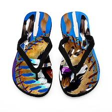 Spiritual Horse Flip Flops