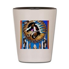 Spiritual Horse Shot Glass
