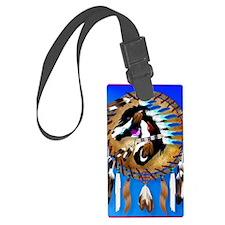 Spiritual Horse Luggage Tag