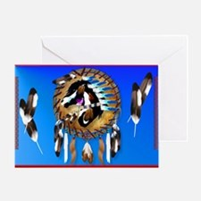 Yard Sign-Spiritual Horse Greeting Card