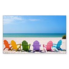 Summer Beach Decal