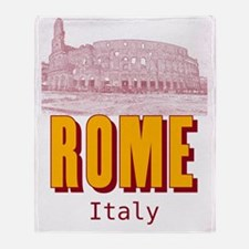 Rome_19x26_Colosseum Throw Blanket