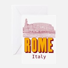 Rome_19x26_Colosseum Greeting Card
