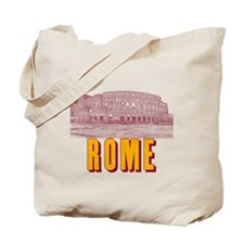 Rome_18x18_Colosseum Tote Bag