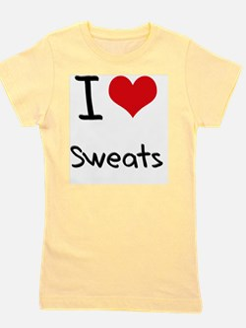 I love Sweats Girl's Tee