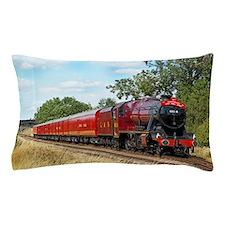 Vintage Steam Engine Pillow Case