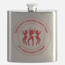Hens just wanna have fun! (Hen Party) Flask