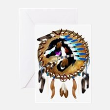 Spiritual Horse-Trans Greeting Card