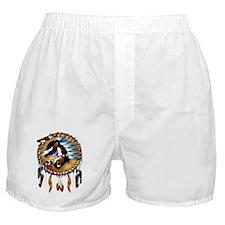 Spiritual Horse-Trans Boxer Shorts
