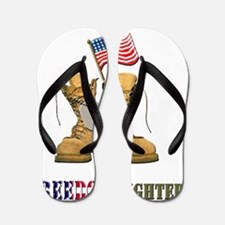 US Army Soldier Freedom Fighter Flip Flops