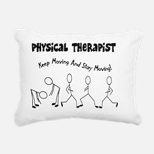 Physical Therapist Rectangular Canvas Pillow