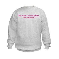 So Cute Sweatshirt
