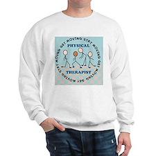 physical therapist pillow 2 Sweatshirt