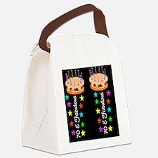 ELEGANT 70TH Canvas Lunch Bag