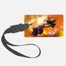 Space Assault Luggage Tag