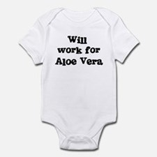 Will work for Aloe Vera Infant Bodysuit