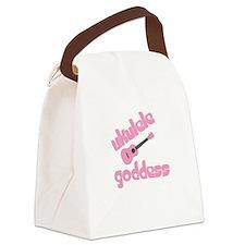 ukulele goddess womens uke Canvas Lunch Bag
