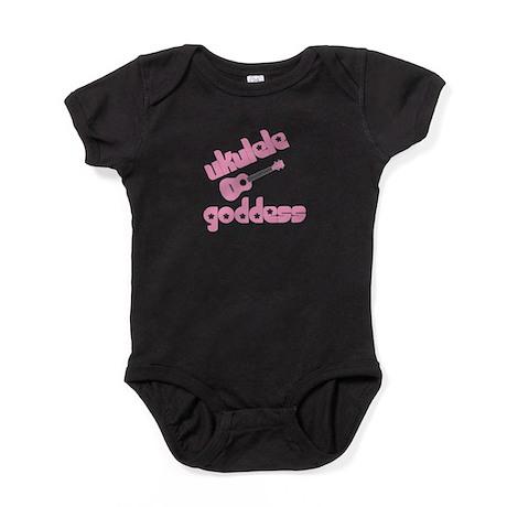 ukulele goddess womens uke Baby Bodysuit