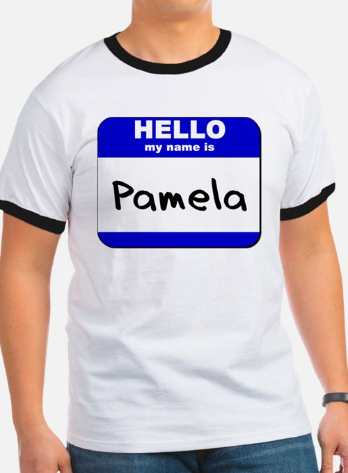 hello my name is pamela  T