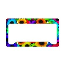 Sunflowers SB License Plate Holder
