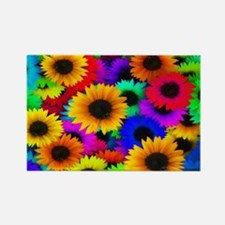Sunflowers SB Rectangle Magnet