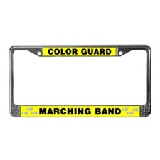 Color Guard Marching Band License Plate Frame